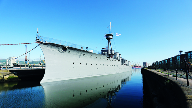 HMS Caroline Entry for Two Adults