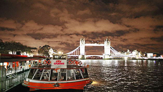 London Showboat Dining Cruise on The Thames for Two