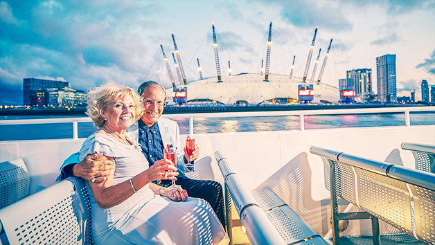 Thames Lunch Cruise Moët and Chandon Champagne with for Two