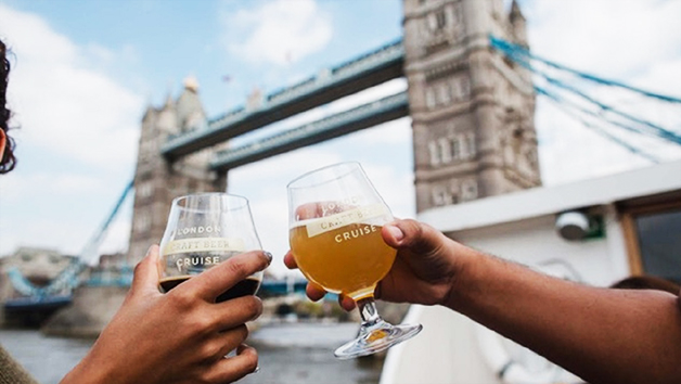 London Beer Tasting Thames Cruise for Two