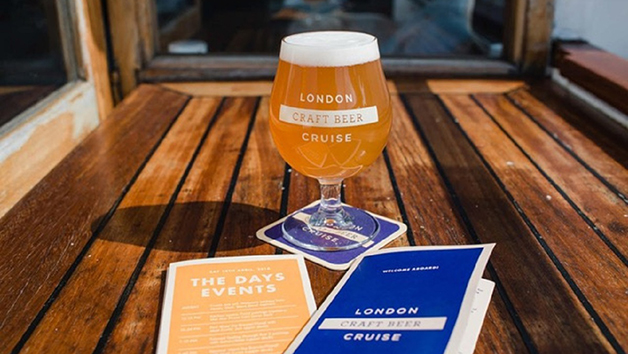 London Beer Cruise for Two with Cheese Board and Beer Tastings