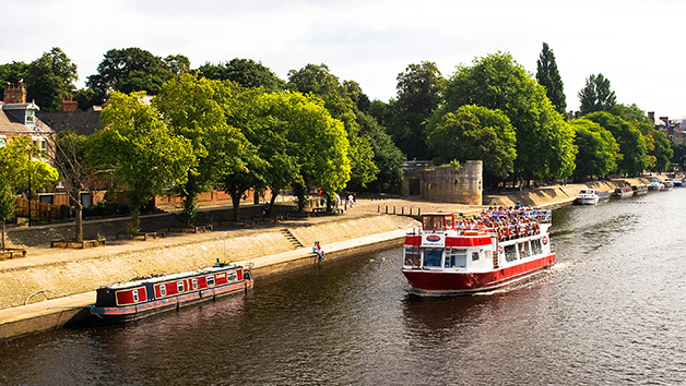 York Sightseeing River Cruise and Afternoon Tea for Two
