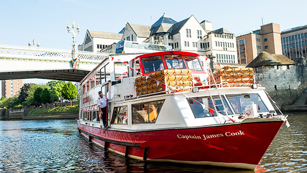 York Sightseeing River Cruise and a Two Course Lunch for Two