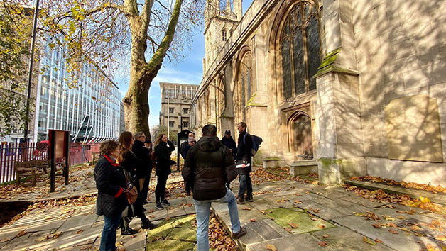 Choice of Historic Guided Walking Tour in London for Two