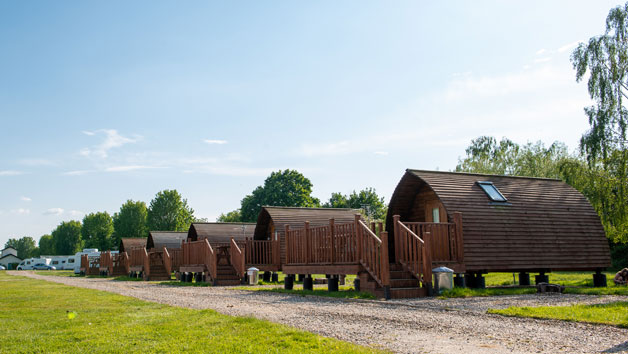 Overnight Break in a Big Chief Wigwam for Four People with Bike Hire
