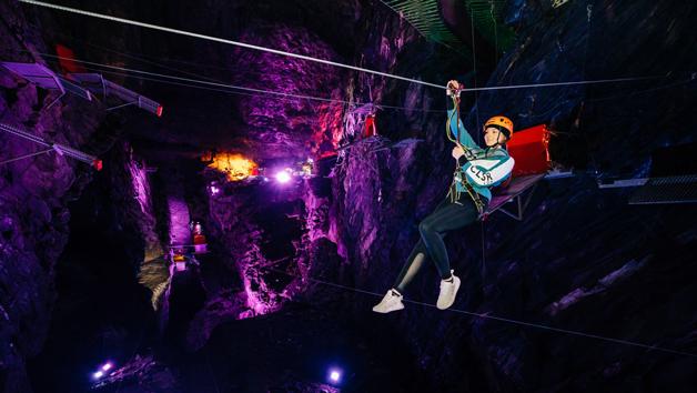 Zip World Caverns Adventure for One