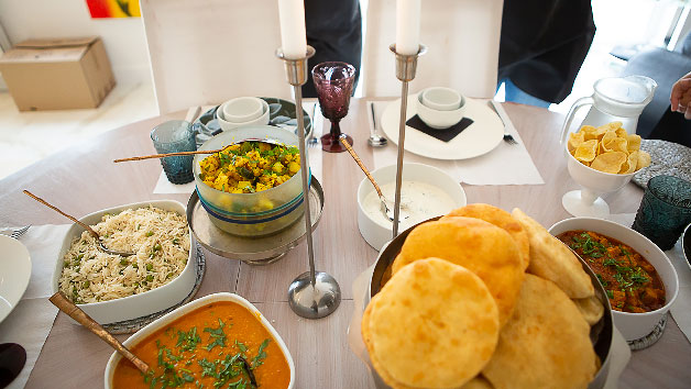 Three Hour Vegetarian Indian Masterclass for One at Spicy Cooks