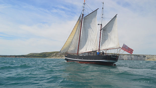 Two Hour Tall Ship Sailing Trip for Two in Dorset