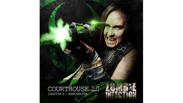 The Courthouse 2.0 Zombie Infection Experience for One