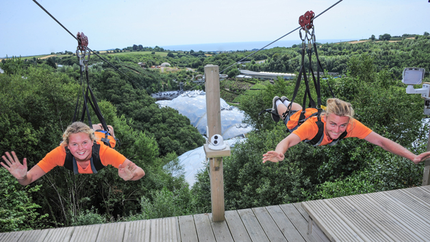 Hangloose at The Eden Project – SkyWire for Two