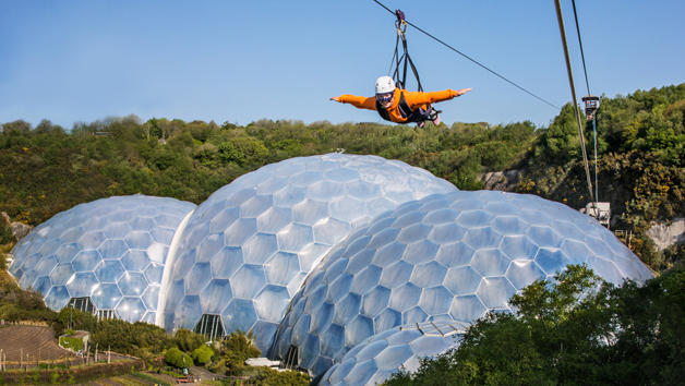 Hangloose at The Eden Project – SkyWire for One