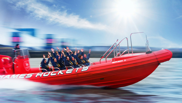 Thames Rockets Break the Barrier Experience for Two