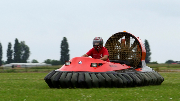 15 Lap Hovercraft Land Experience for One