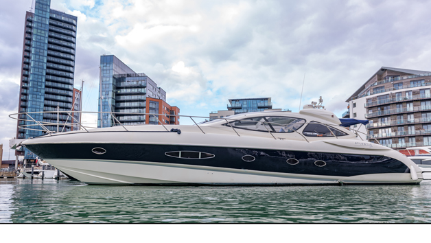 Seaseeker Charters Sunset Private Luxury Motor Yacht with Champagne for Six