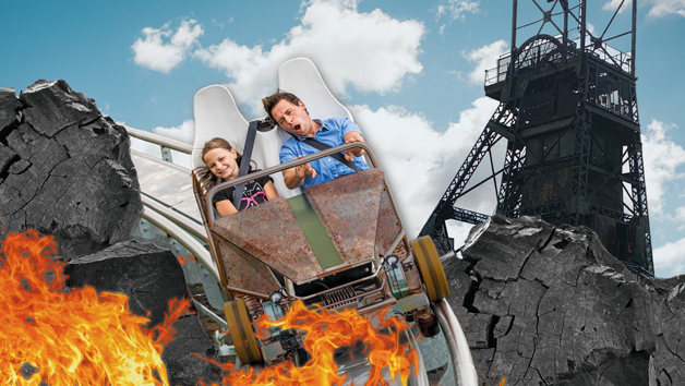 Zip World Tower Coaster Ride for Two People