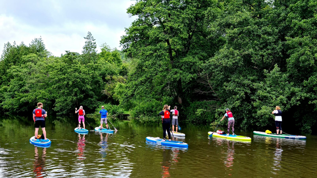 Stand Up Paddleboarding in Bristol for Two