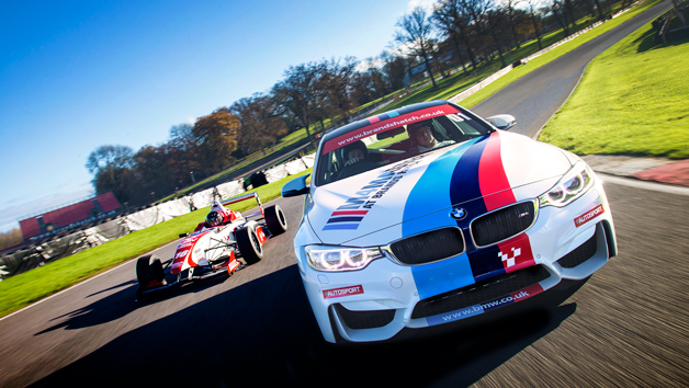 Single Seater and BMW M4 Driving Experience at Oulton Park for One