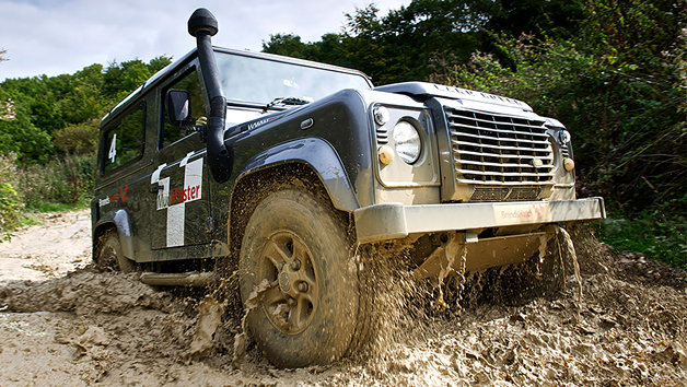 Mudmaster 4x4 Off Road Driving Experience at Brands Hatch for One