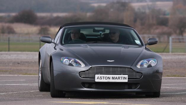 Aston Martin Driving Blast for One Person