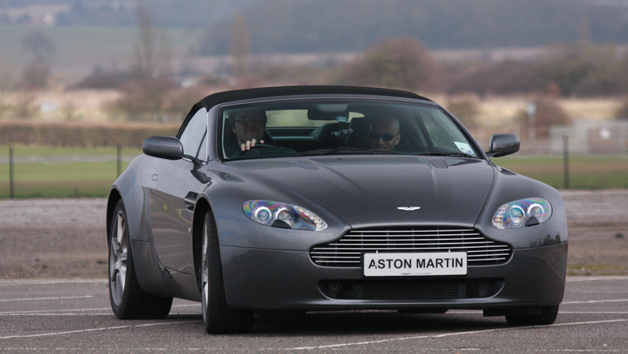 Aston Martin Driving Thrill and Passenger Ride for One Person