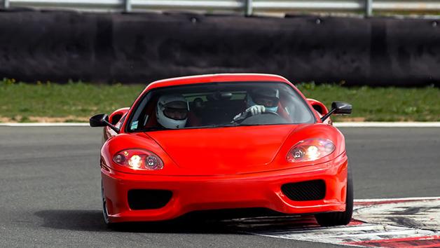 Ferrari and Aston Martin Driving Blast for One Person