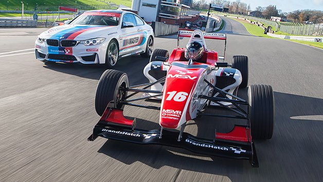 F4 Single Seater Driving Experience at Brands Hatch for One