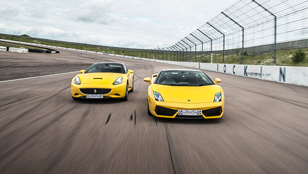 Two Supercar Driving Blast at a Top UK Race Track