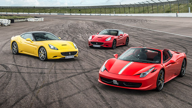 Four Supercar Driving Experience at a Top UK Race Track