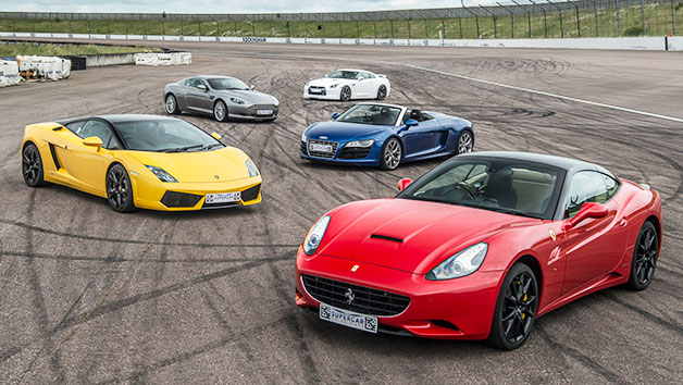 Five Supercar Driving Experience at a Top UK Race Track
