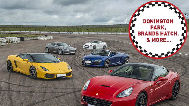 Five Supercar Driving Blast at a Top UK Race Track
