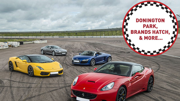 Four Supercars Driving Thrill for One