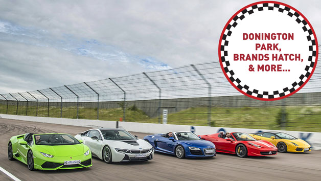 Five Supercar Driving Thrill at a Top UK Race Track