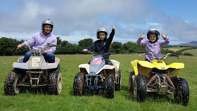 Quad Biking Course for Two at Keypitts Off Road Adventures