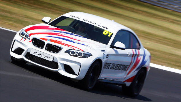 BMW M2 Morning Race Car Experience at Silverstone for One