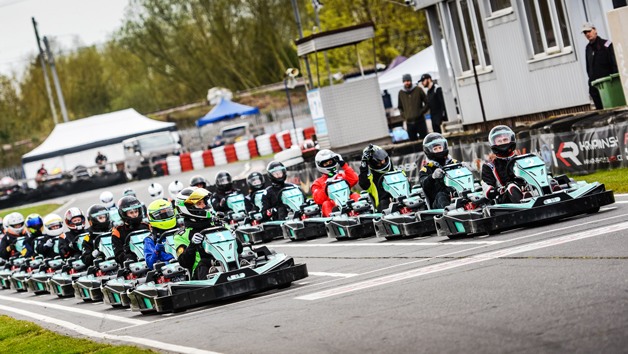 Weekend Grand Prix Karting at Rye House Karting for Two