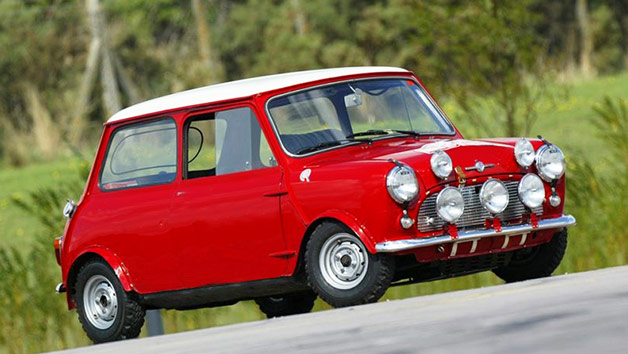 Italian Job Mini Cooper S Three Mile Drive for One