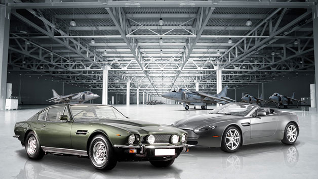 007 Aston Martin V8 Vantage and 70's Vantage Driving Thrill