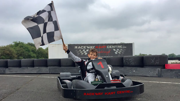 One Hour Go Karting Experience at Raceway Kart Centre for Two