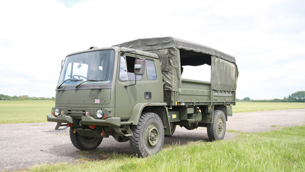 Military Off-Road Driving Experience in a MAN SV HX60 or Hagglunds BV206