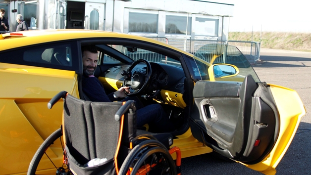 Adaptive Four Supercar Thrill with High Speed Passenger Ride for One