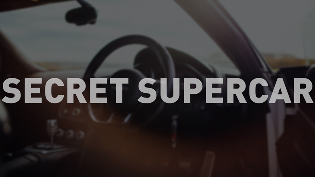 Triple Secret Supercar Driving Experience for One