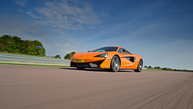 McLaren 570S Thrill at Thruxton