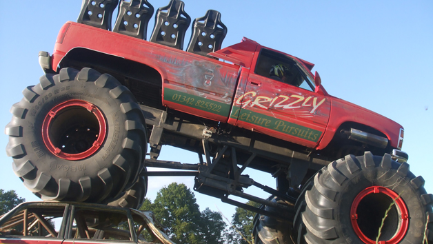 American Monster Truck Driving with Quad Bike Experience for Two