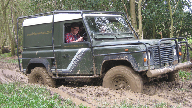 Off Road Driving Challenge for One and a Two Course Lunch