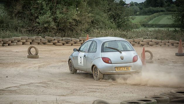 Half Day Junior Rally Driving Experience at Silverstone Rally School for One