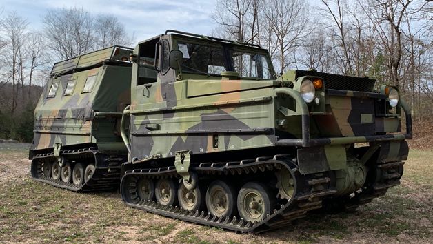 Military Driving Experience for One Junior