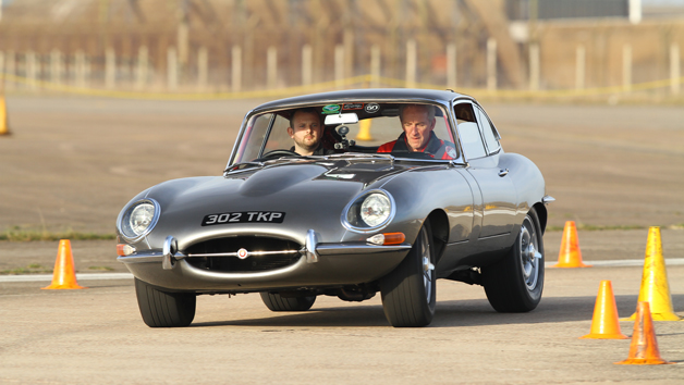 Jaguar E-Type vs a Classic Mustang Driving Showdown for One