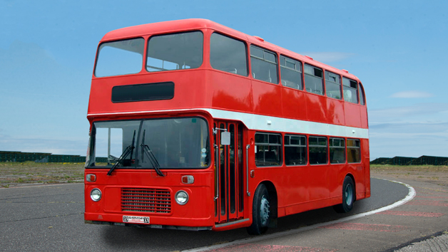 Double Decker Bus Driver Experience for One Person