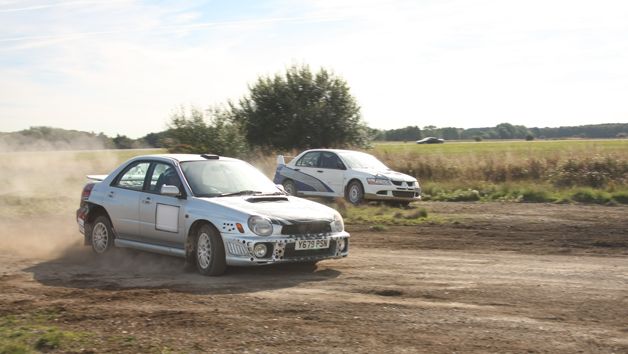 Six Lap Single Rally Driving Experience for One Person