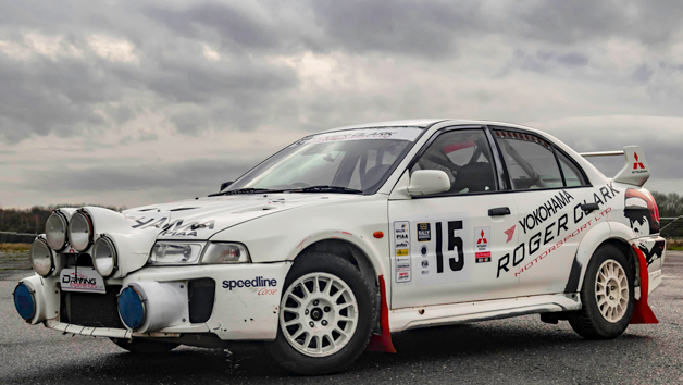 Six Lap Triple Rally Driving Experience for One Person